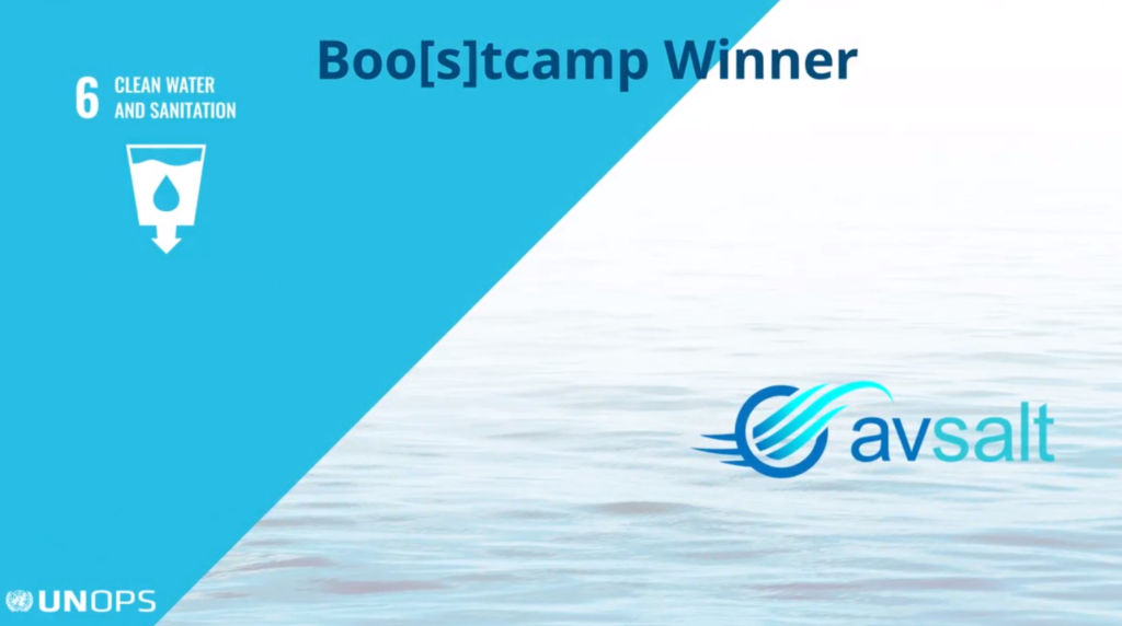 Avsalt UNOPS boostcamp winner